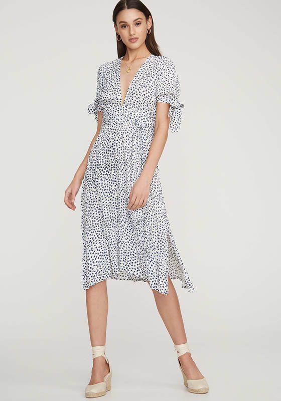 7ed2eb9ac4e0b9 Lyst - Faithfull The Brand Nina Midi Dress - Save 21%