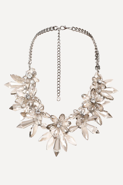 bebe chandelier necklace lyst