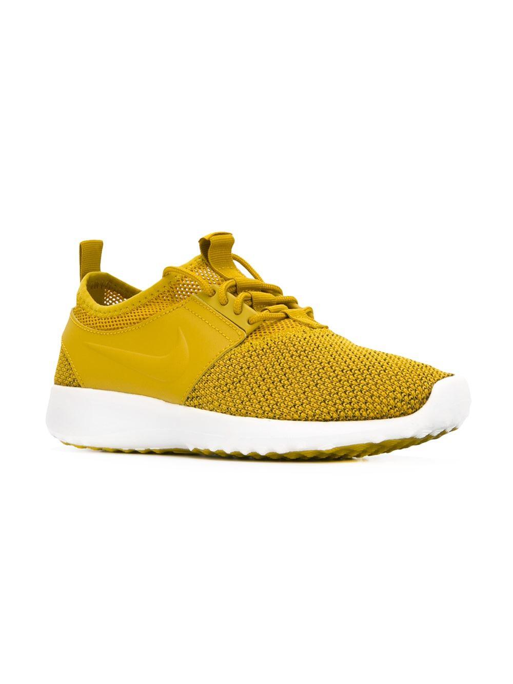 nike juvenate txt sneakers in yellow lyst