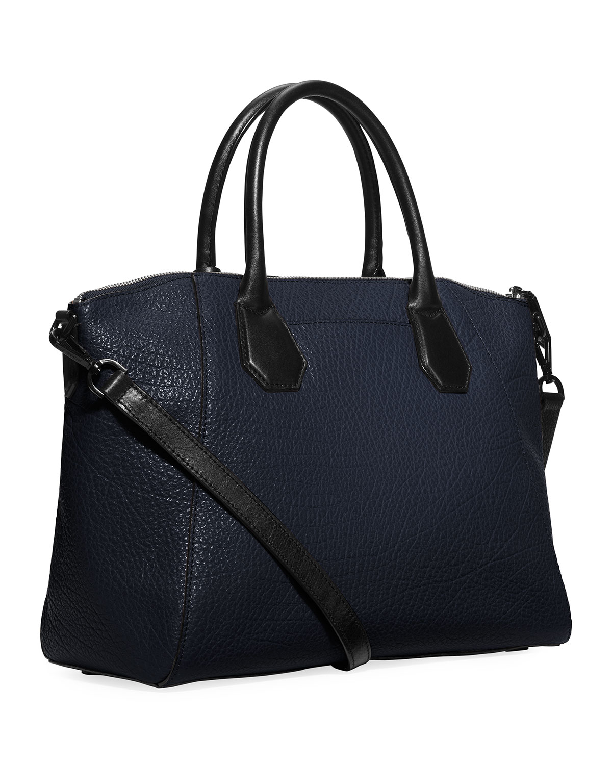 8069b5bb46a1a Lyst - MICHAEL Michael Kors Campbell Large Satchel Bag in Blue