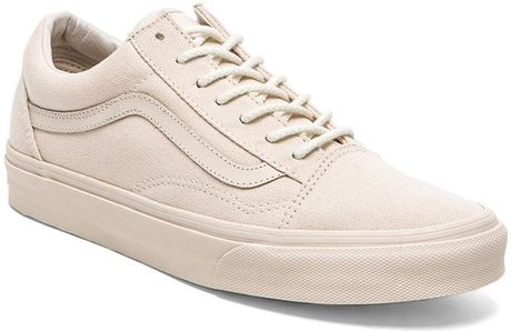 vans california old skool reissue in beige for men birch. Black Bedroom Furniture Sets. Home Design Ideas