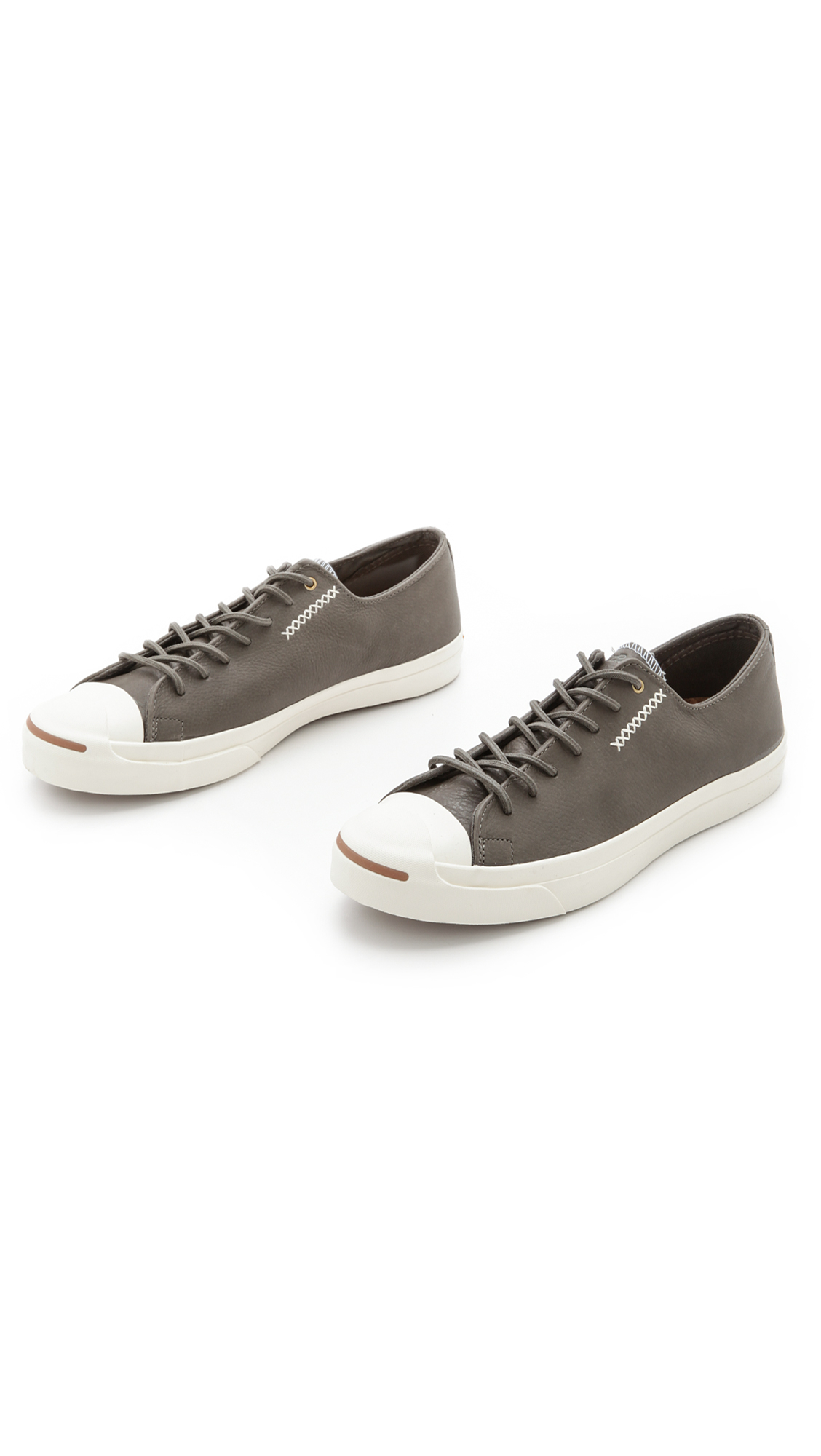 26a0c178c3a9 Lyst - Converse Jack Purcell Cross-Stitch Sneakers in Gray for Men