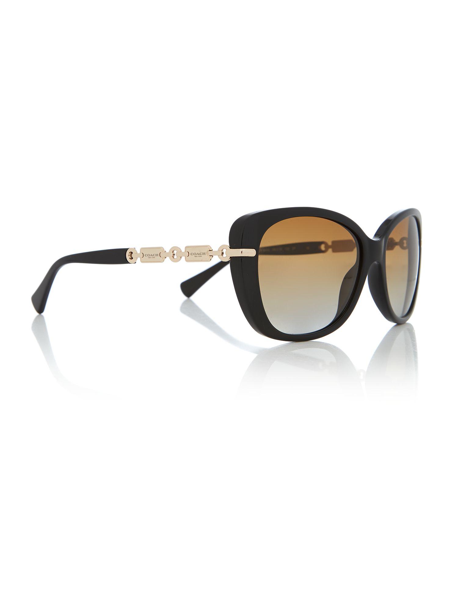 Coach Hc8131 Cat Eye Sunglasses In Black Lyst