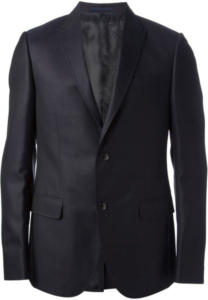 Gucci Suit In Blue For Men Lyst