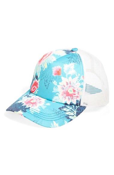 e5c5deca41064 ... best price lyst billabong beach beauty trucker hat a6af3 50d66