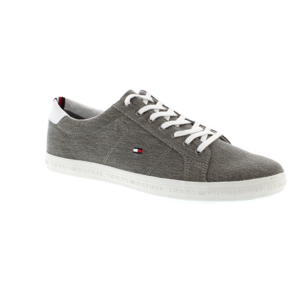 Tommy Hilfiger Essential Long Lace Canvas Sneakers in 7BmJeW