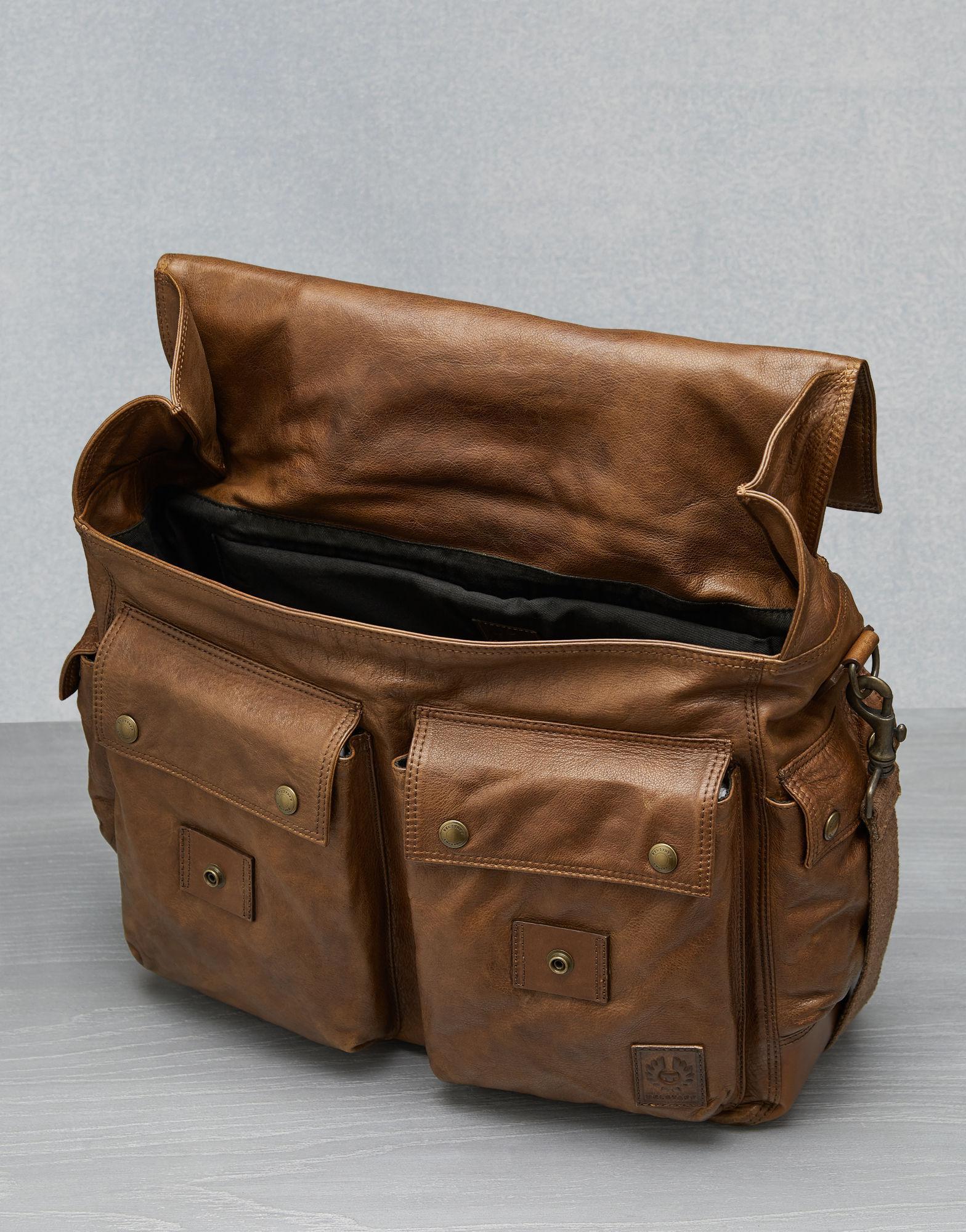 fbd4e354f2 Belstaff Colonial Messenger Shoulder Bag in Brown for Men - Save 48% - Lyst