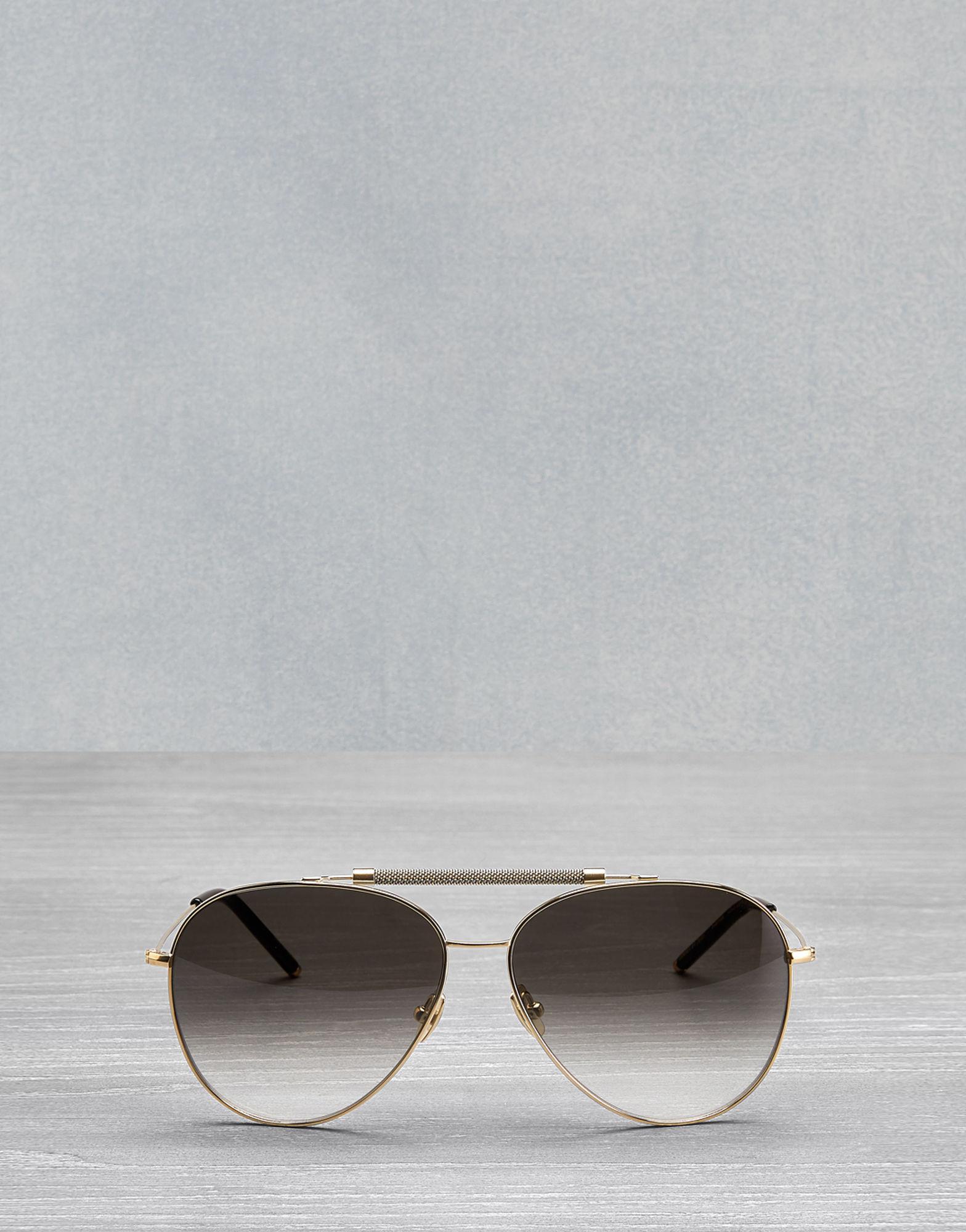 204935515c5 Lyst - Belstaff Panther Aviator Sunglasses in Metallic for Men ...