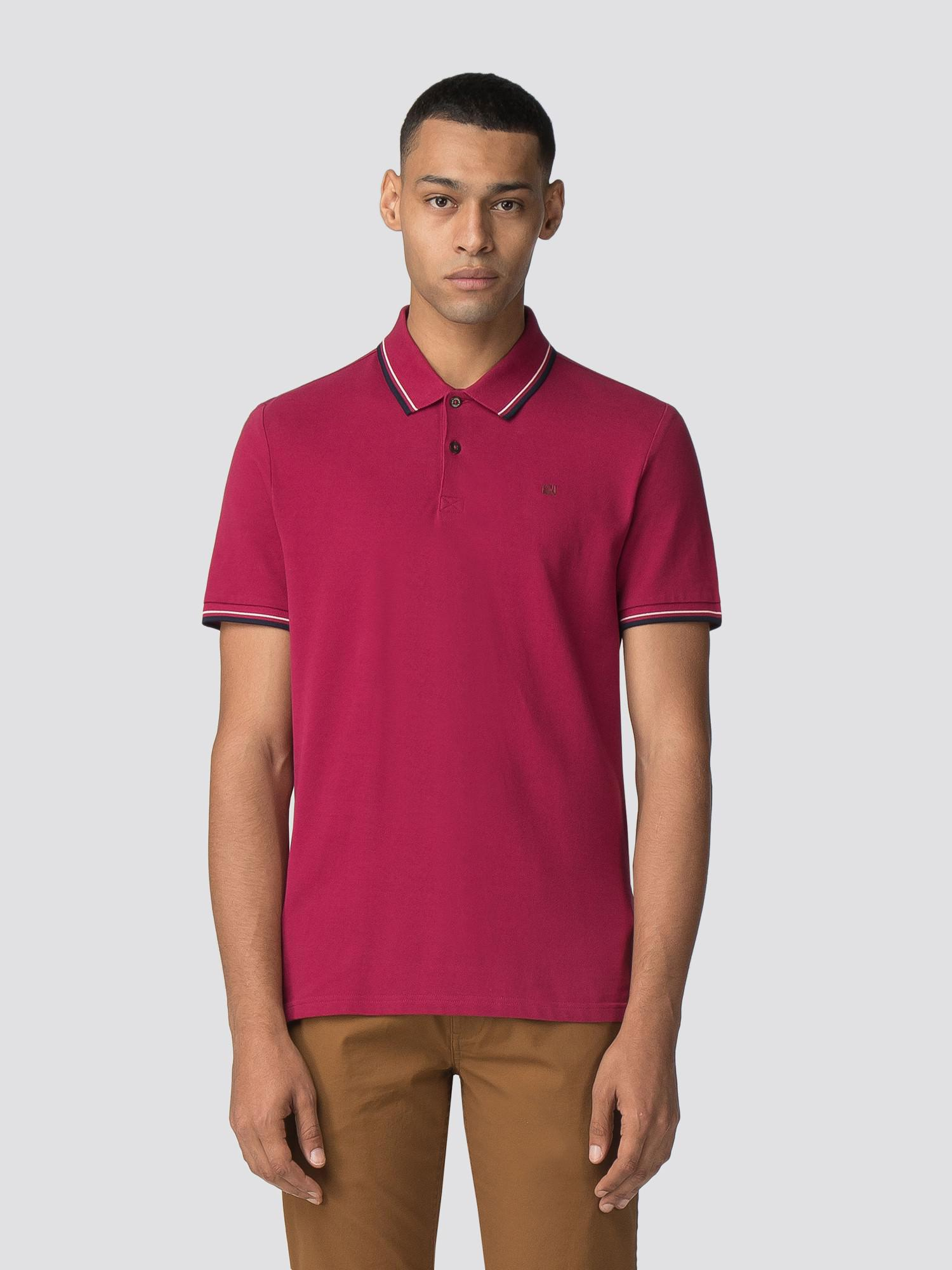 dc748ebf2 Ben Sherman Romford Polo Shirt in Red for Men - Lyst