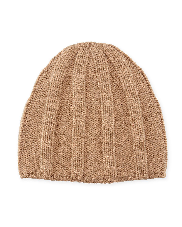 5e88412c73b Lyst - Brunello Cucinelli Men s Cashmere Ribbed Beanie Hat in ...