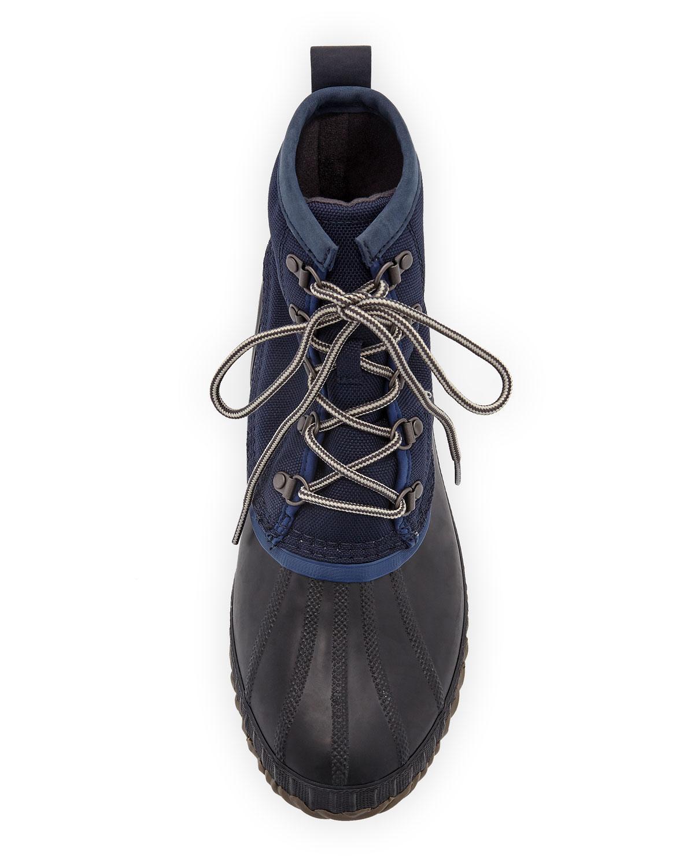 42e41934425 Lyst - Sorel Men's Cheyanne Ii Short Nylon Lace-up Duck Boots in ...