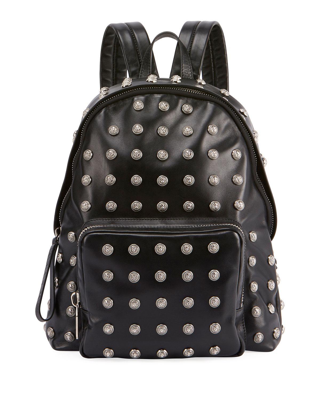 Studded small backpack Balmain rl3u9ST7e