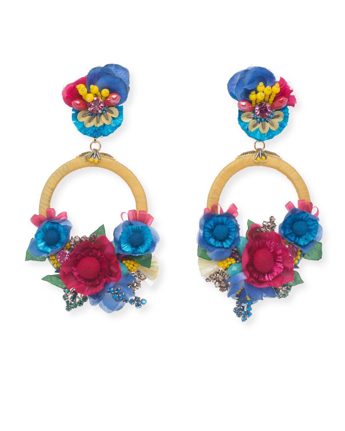 Ranjana Khan Jarita Clip-On Statement Earrings AN9croFy