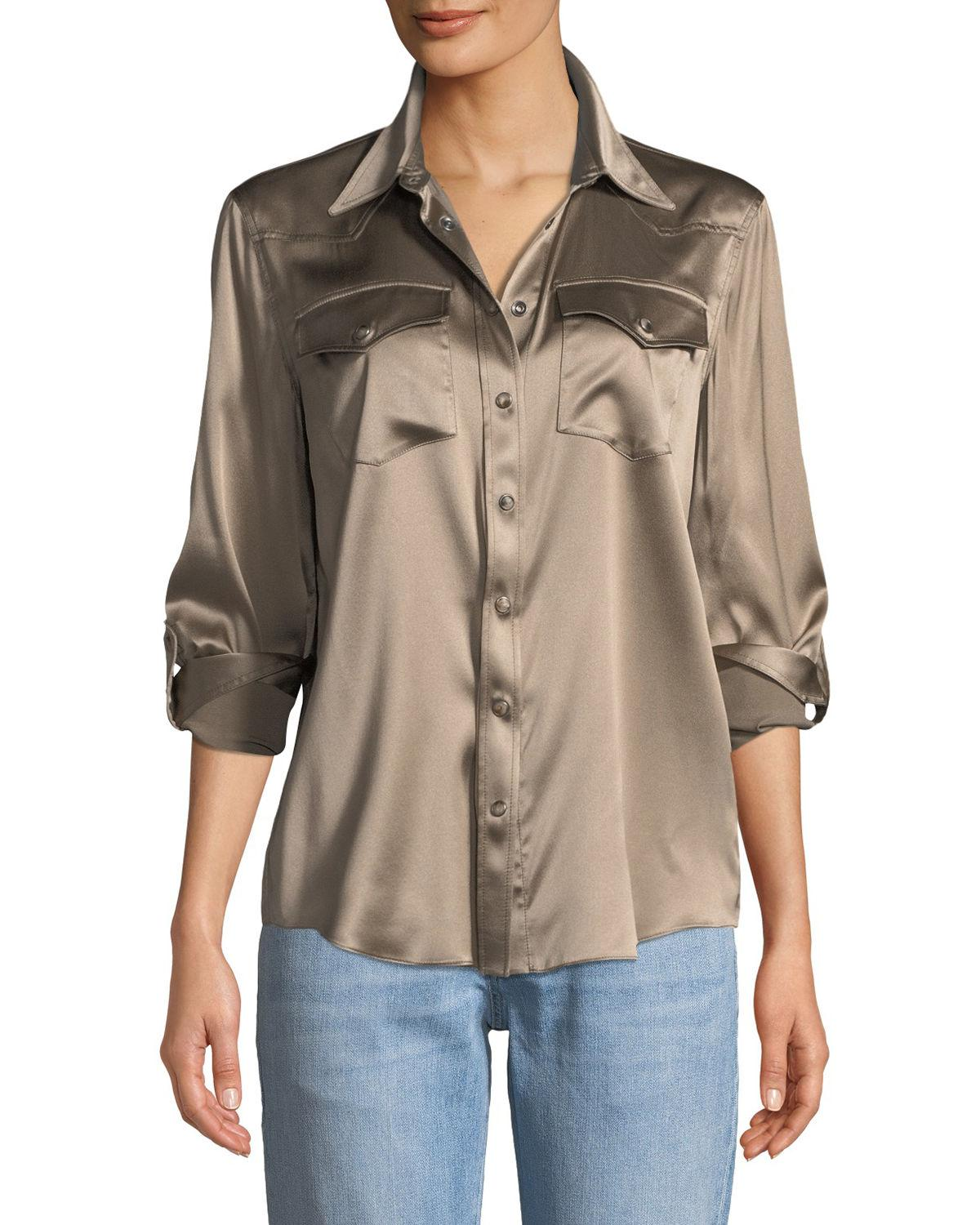 92dcf184 Western Snap Button Long Sleeve Shirts | Top Mode Depot