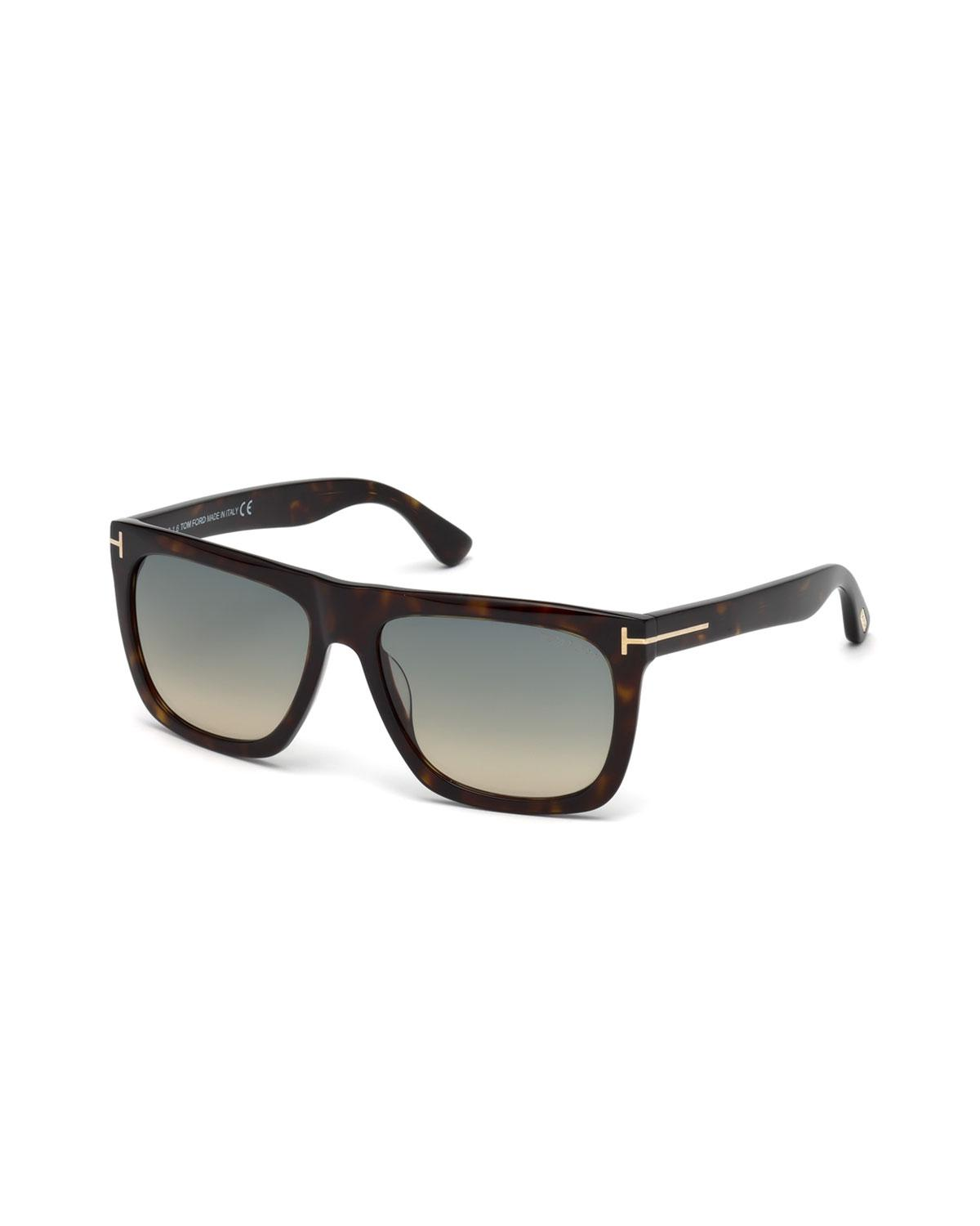 cefe36c0fe Lyst - Tom Ford Morgan Thick Square Acetate Sunglasses for Men