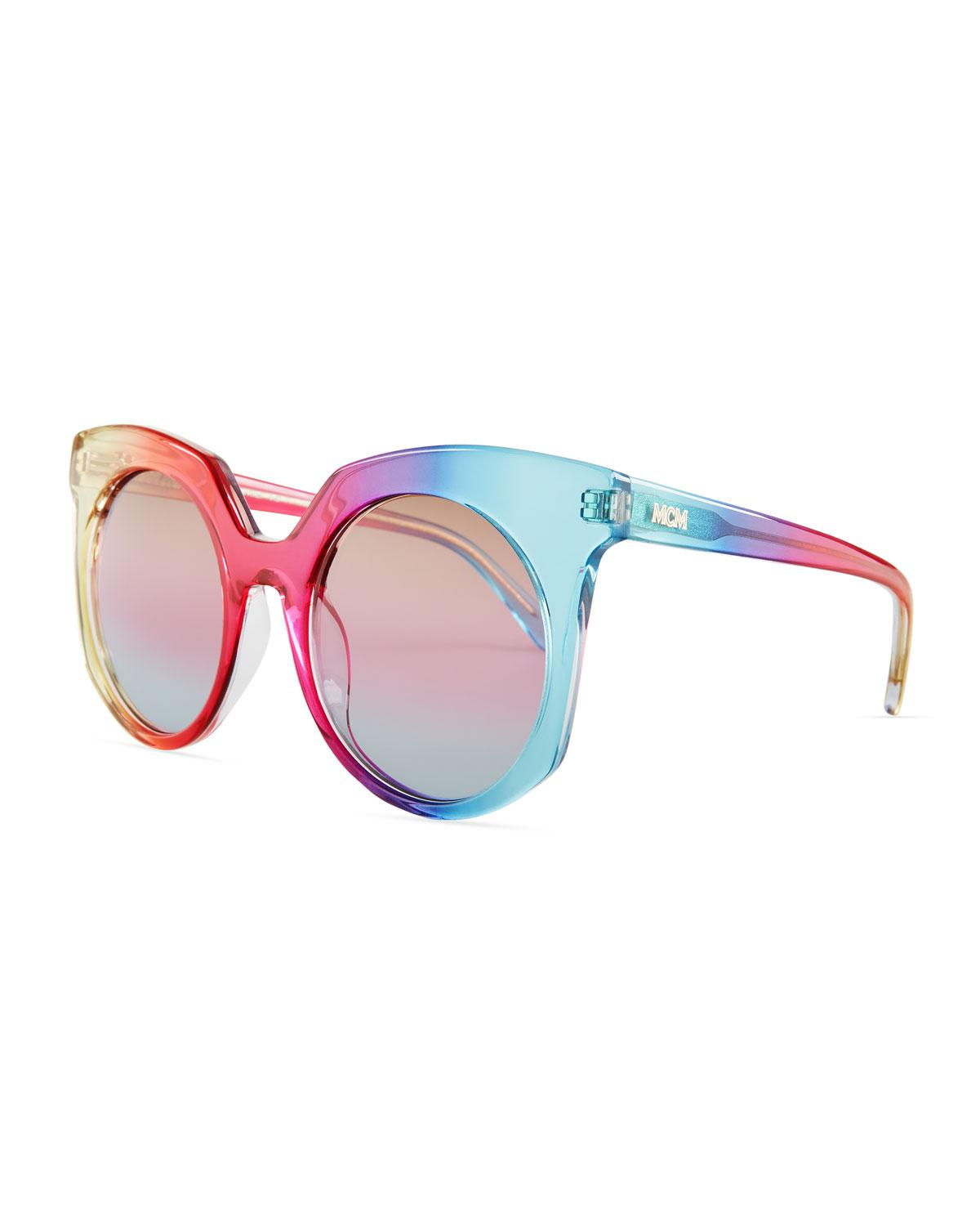 764e80d912e40 MCM Punk Rainbow Cat-eye Sunglasses - Lyst
