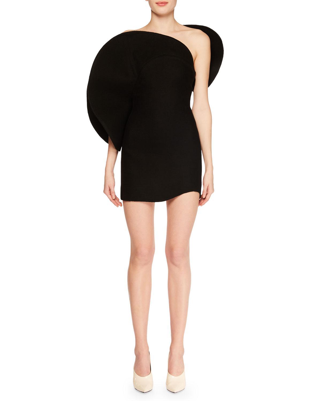 2c54c4962f Saint Laurent. Women s Black Strapless Structural Bustier Cocktail Mini  Dress