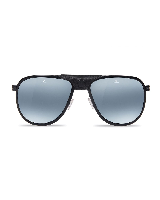 ed66bd886c ... side shields eyewear uv 400 lens Source · Lyst Vuarnet Men s Glacier Xl Polarized  Sunglasses W Removable