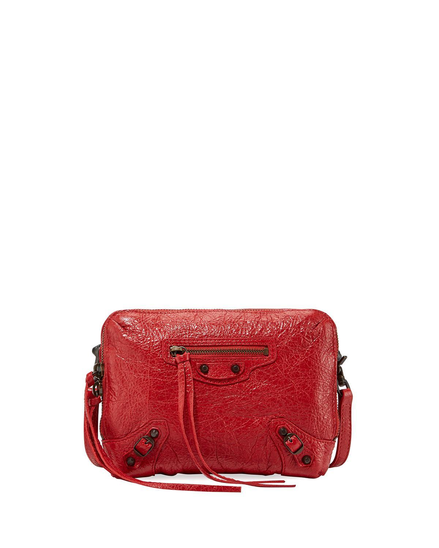 xs Reporter crossbody bag - Metallic Balenciaga fFdJEPa