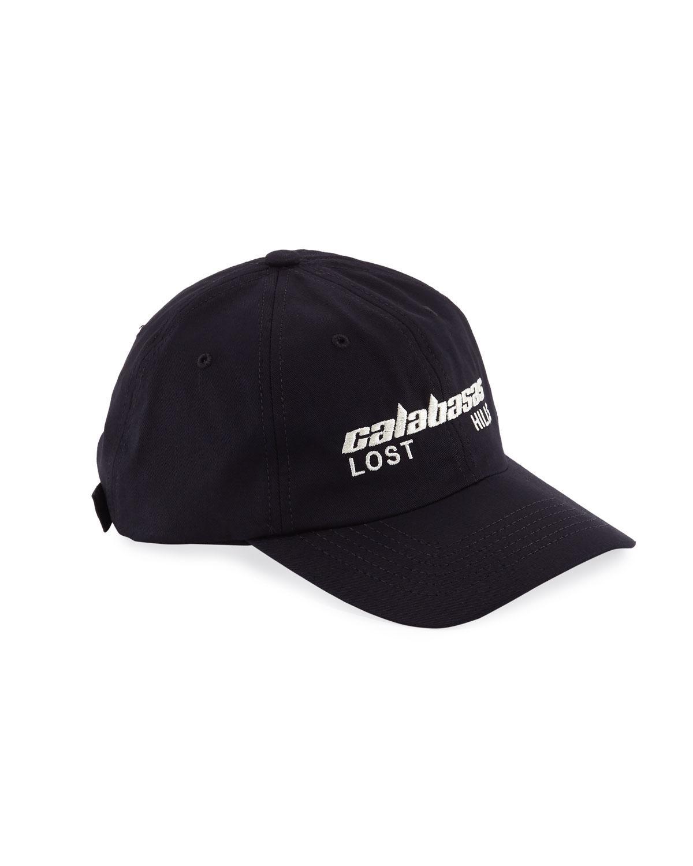 eddfb330f Yeezy Calabasas Lost Hills Dad Hat in Black for Men - Lyst