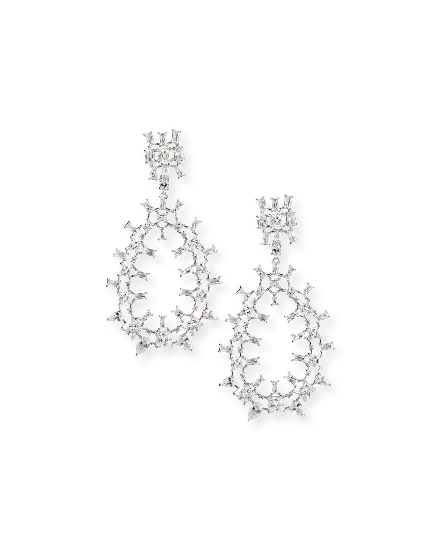 Fallon Monarch Oversized Crystal Teardrop Earrings I9xyMj2c
