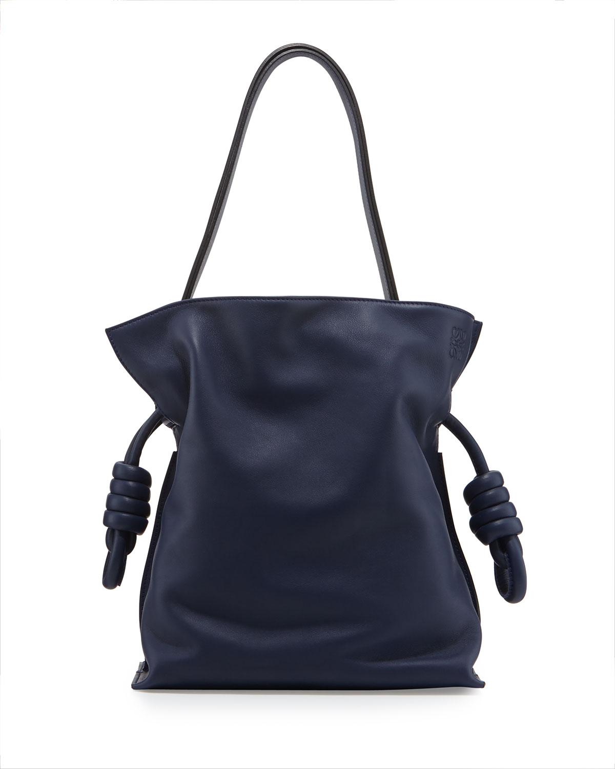 Loewe Flamenco Small Knot Bucket Bag in Blue - Lyst f91f89d7d4819
