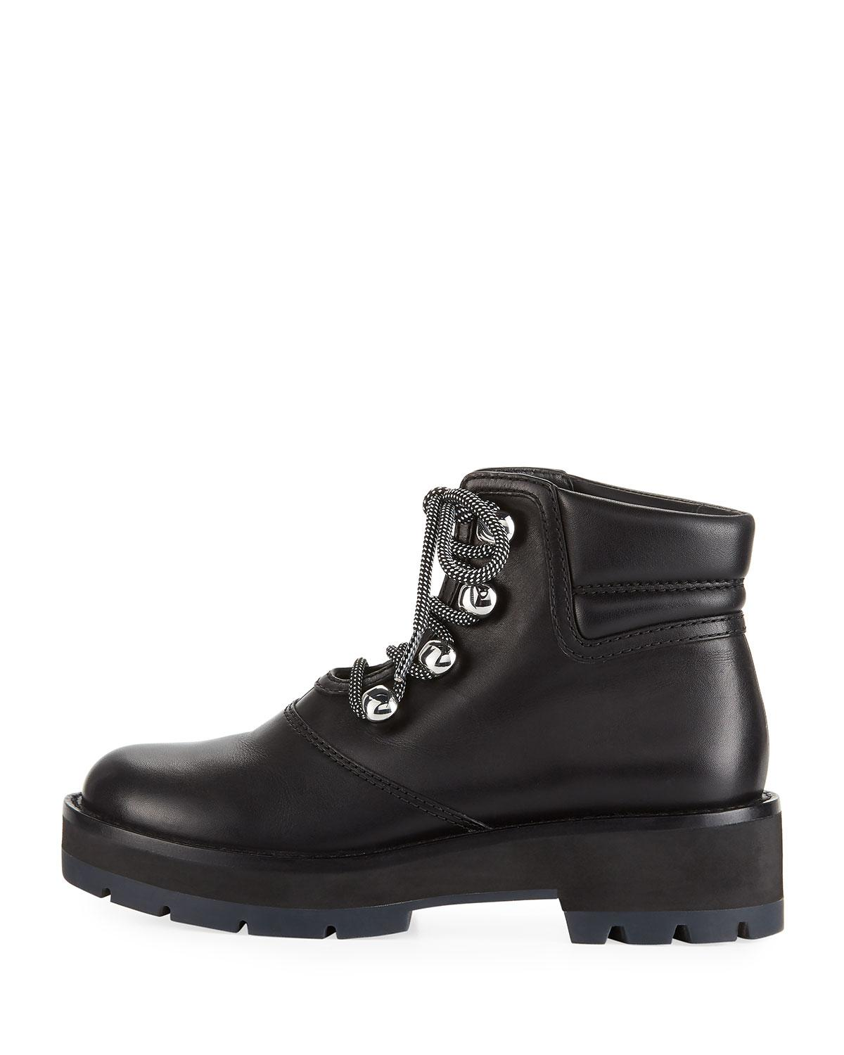 5ecbe13a1f4b0 3.1 Phillip Lim - Black Dylan Lace-up Hiking Boot - Lyst. View fullscreen