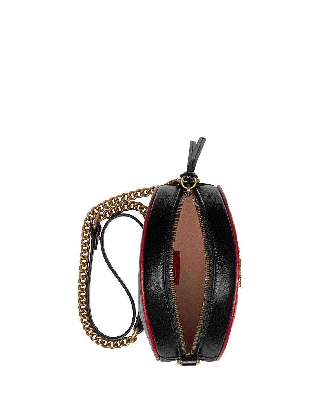 120ff29c0b40 Gucci GG Marmont Shoulder Bag in Black - Lyst