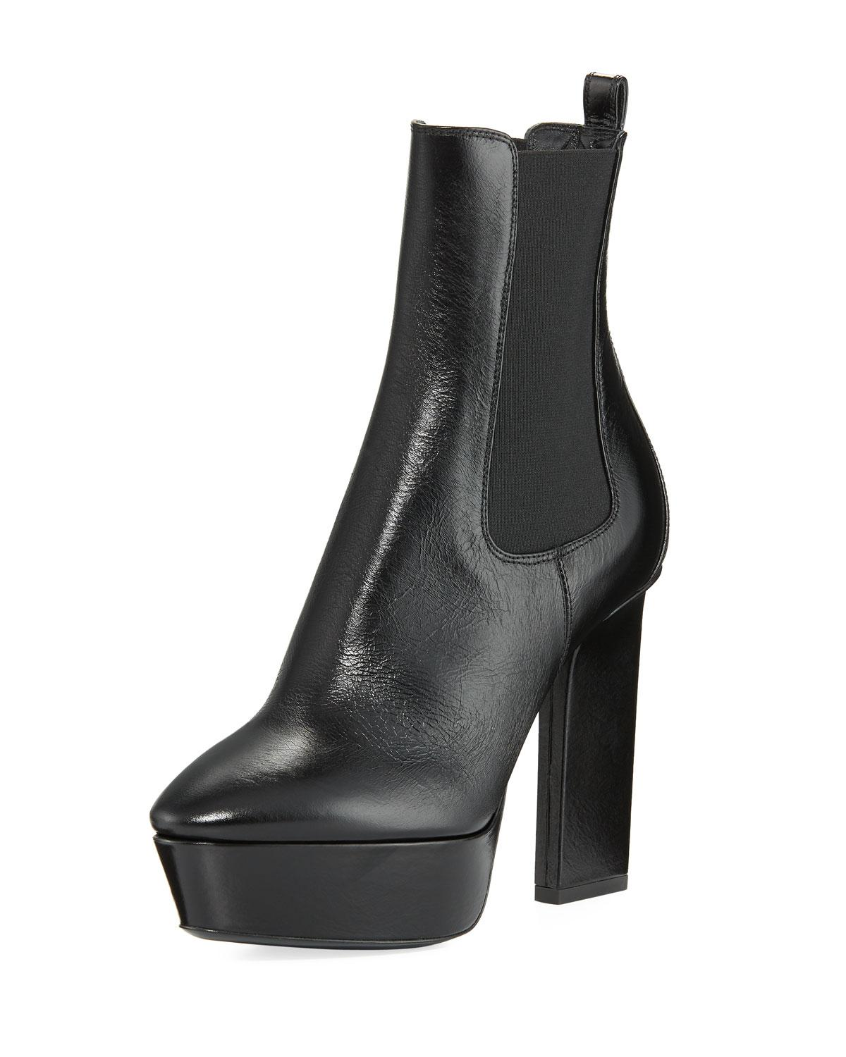 Vika 95 Chelsea Ankle Boot Saint Laurent