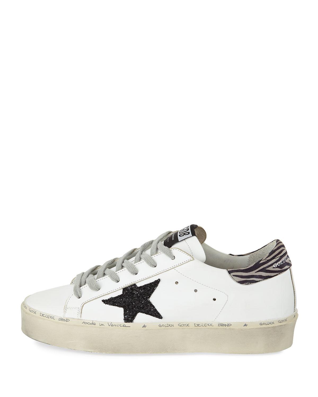 1ea8c8a3838 Lyst - Golden Goose Deluxe Brand Hi Star Platform Sneakers in White