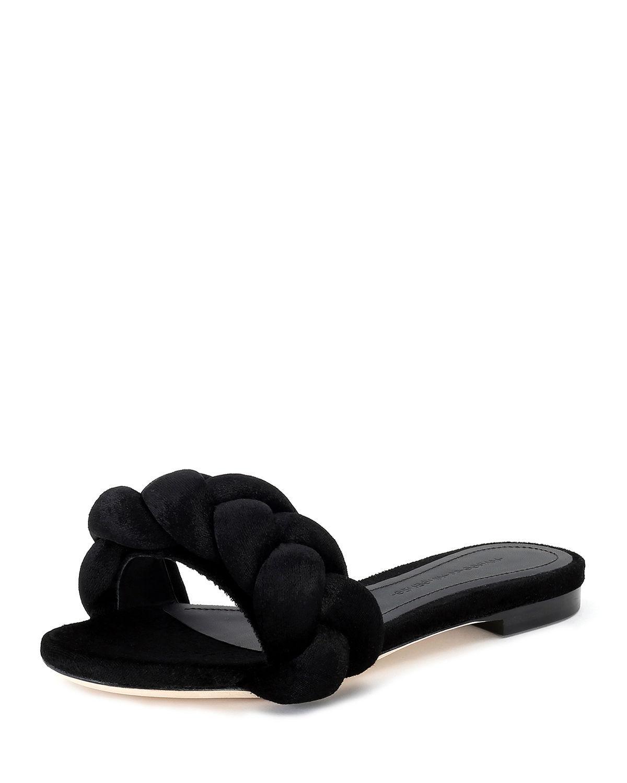 Sale Footaction MARCO DE VINCENZO Braid Strap Slides For Sale Online Store X6UlZHe9