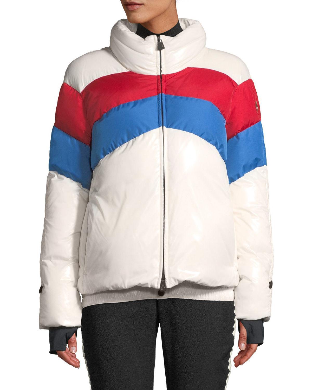 78d00084c Lyst - Moncler Grenoble Lamar Colorblock Ski Coat
