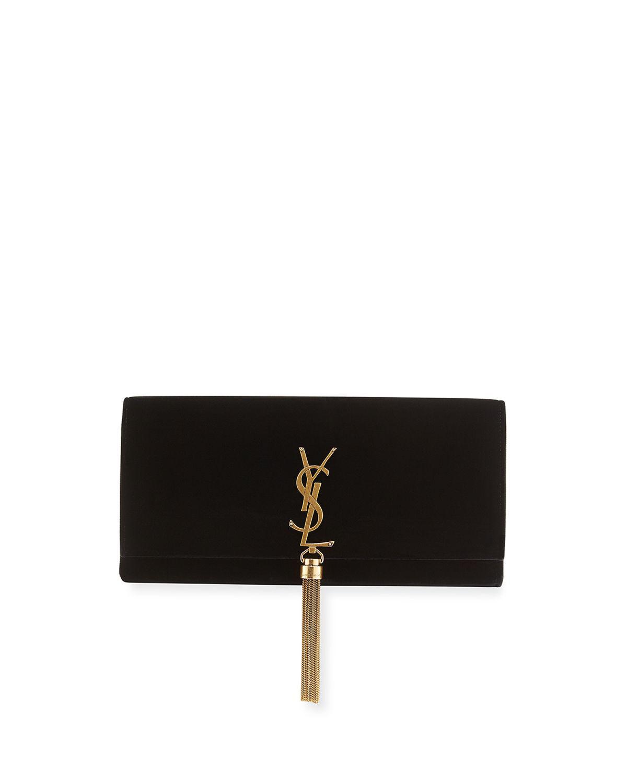 Black Kate Clutch Saint Laurent Cheap Online Store Manchester byuhq8