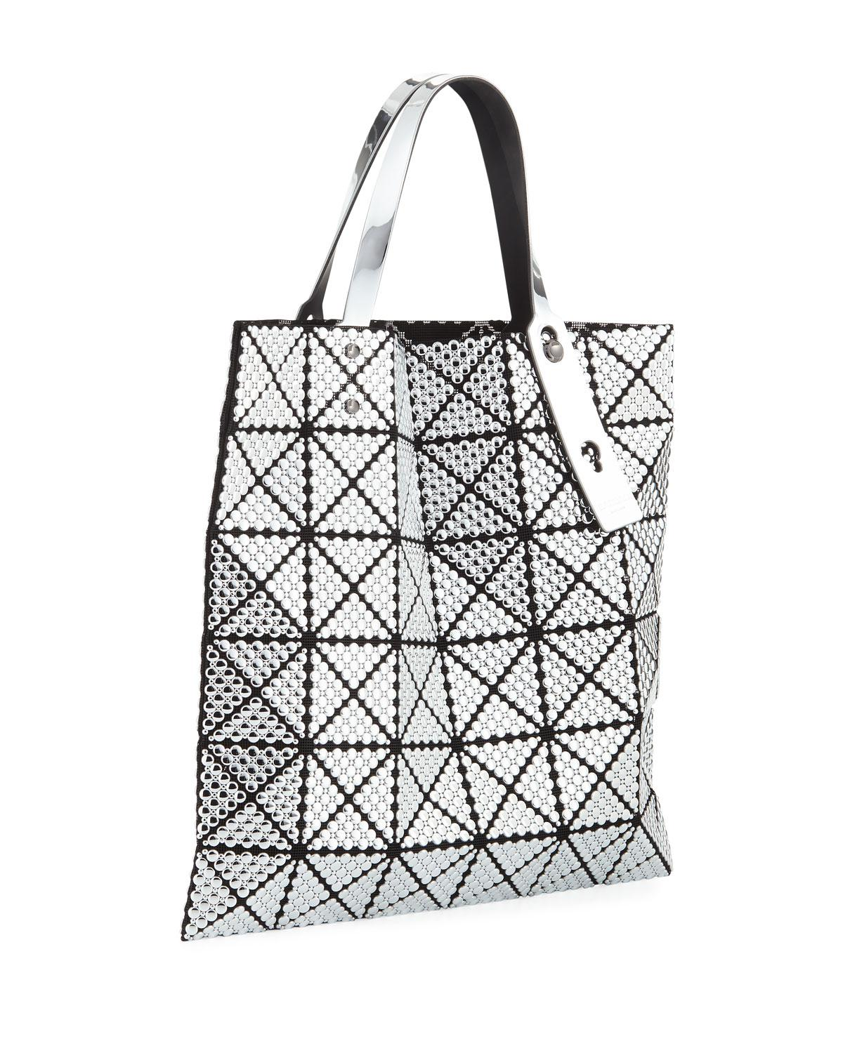Lyst - Bao Bao Issey Miyake Bubble Studded Tote Bag in Metallic 38402d8f0f688