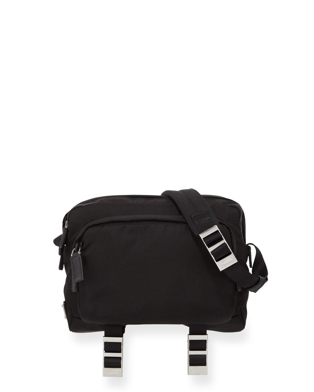 1dff3e8374f Prada Men s Nylon Crossbody Bag in Black for Men - Lyst