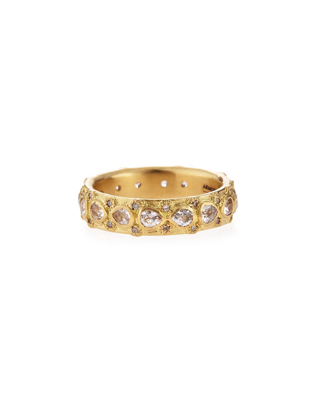 Armenta New World Lacy Eternity Stacking Ring QYeSX05lU