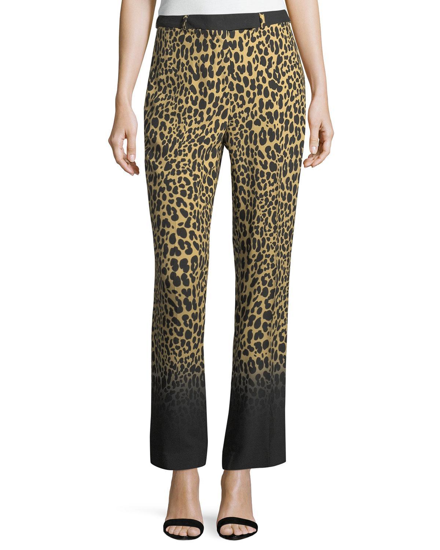 leopard-print trousers - Brown Etro Buy Online Cheap ACWnxsE1