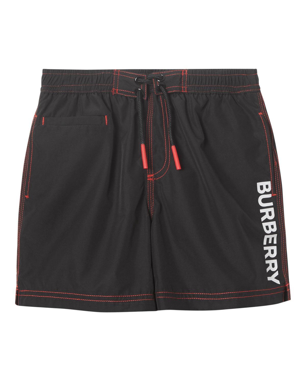 96fdcbf73a Burberry - Black Little Boy's & Boy's Rafael Swim Shorts for Men - Lyst.  View fullscreen