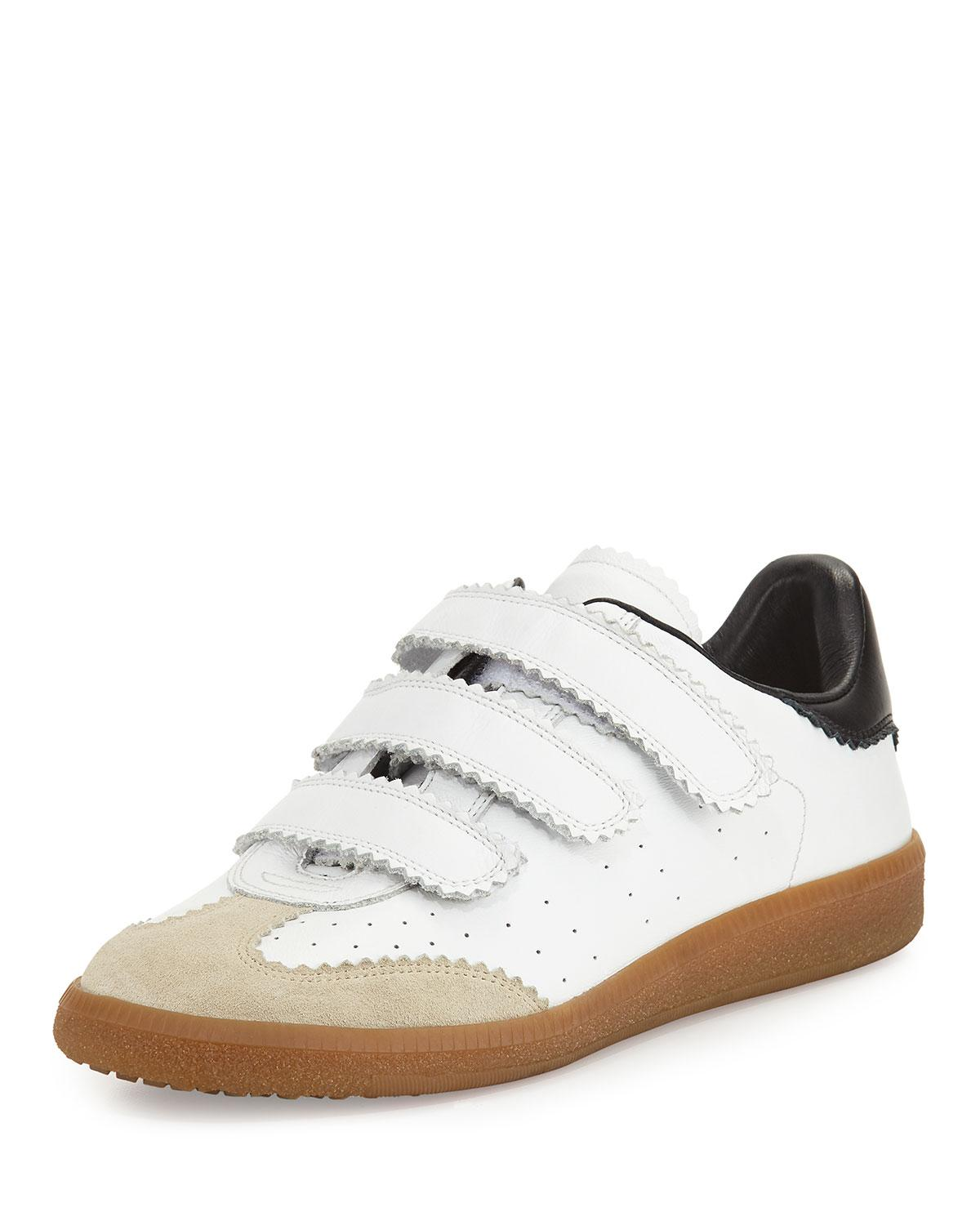 Isabel Marantwhite beth leather sneakers