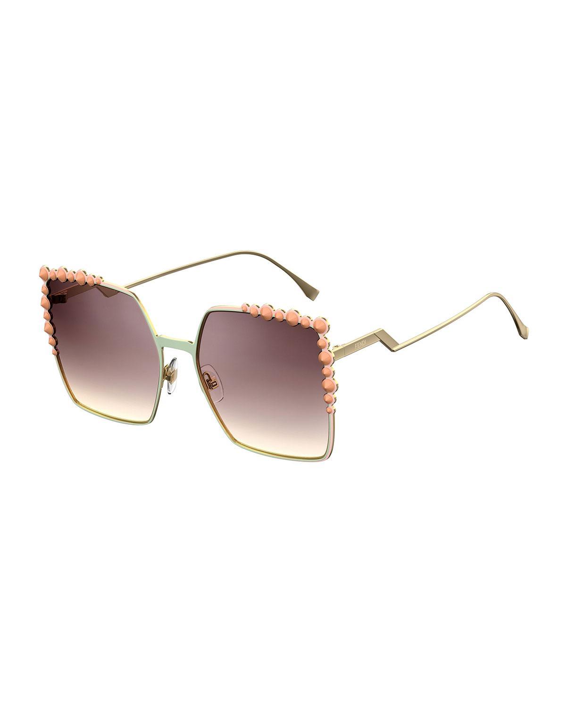 Can Eye sunglasses - Brown Fendi 6Lrlj