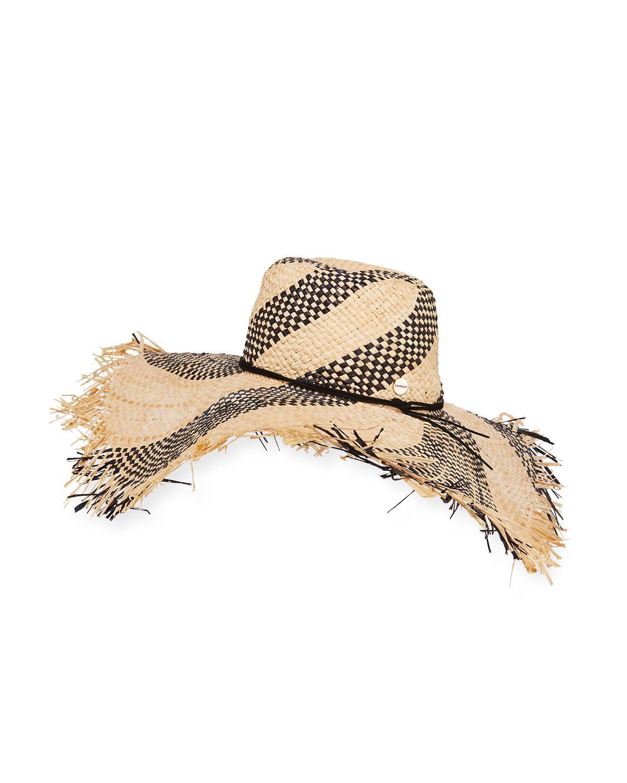 Lyst - Seafolly Shady Lady Wide-brim Floppy Beach Hat in Natural 175588b09563