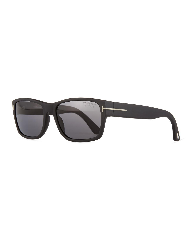 746493b2d39 Tom Ford - Black Mason Matte Polarized Sunglasses for Men - Lyst. View  fullscreen