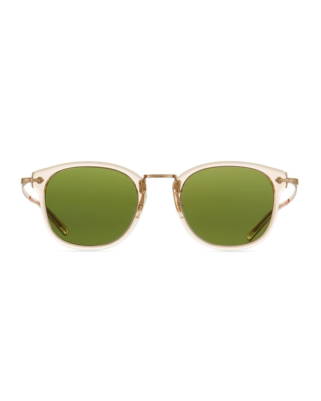 ba55435f15 Lyst - Oliver Peoples Men s Op-506 Acetate metal Sunglasses in Green for Men
