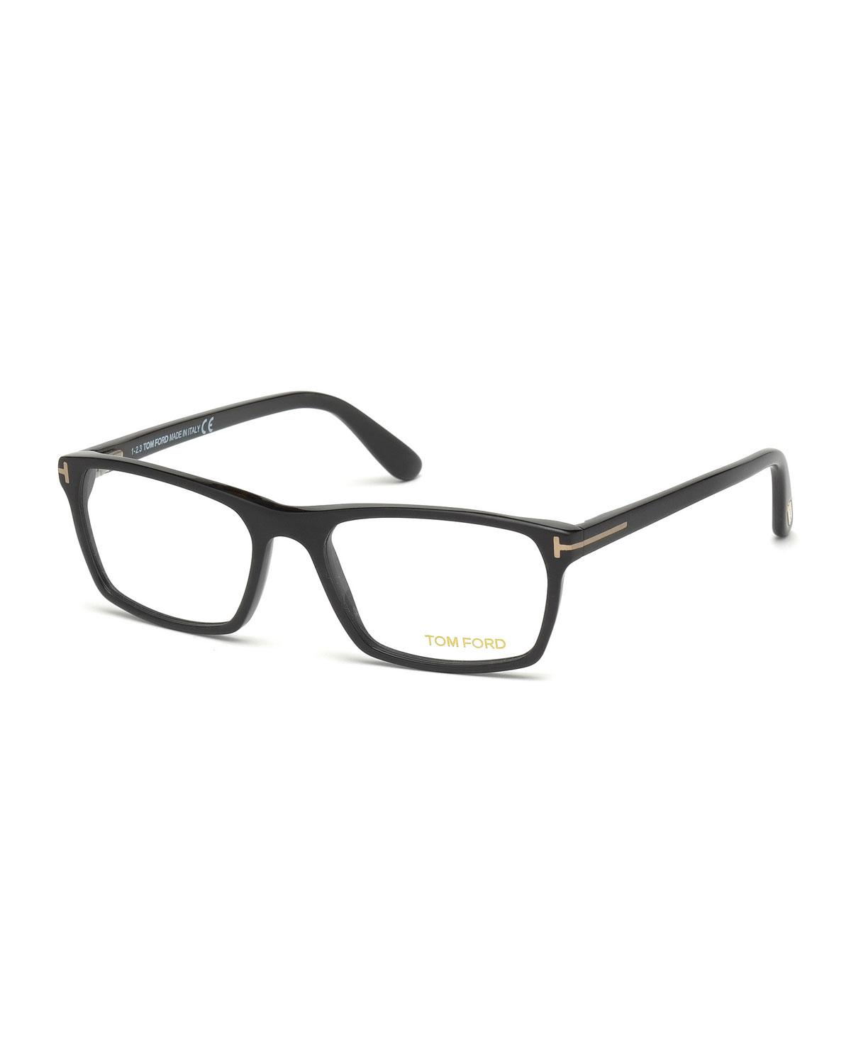 86c1bb02205ef Tom Ford - Multicolor Matte Acetate Square Optical Glasses for Men - Lyst.  View fullscreen