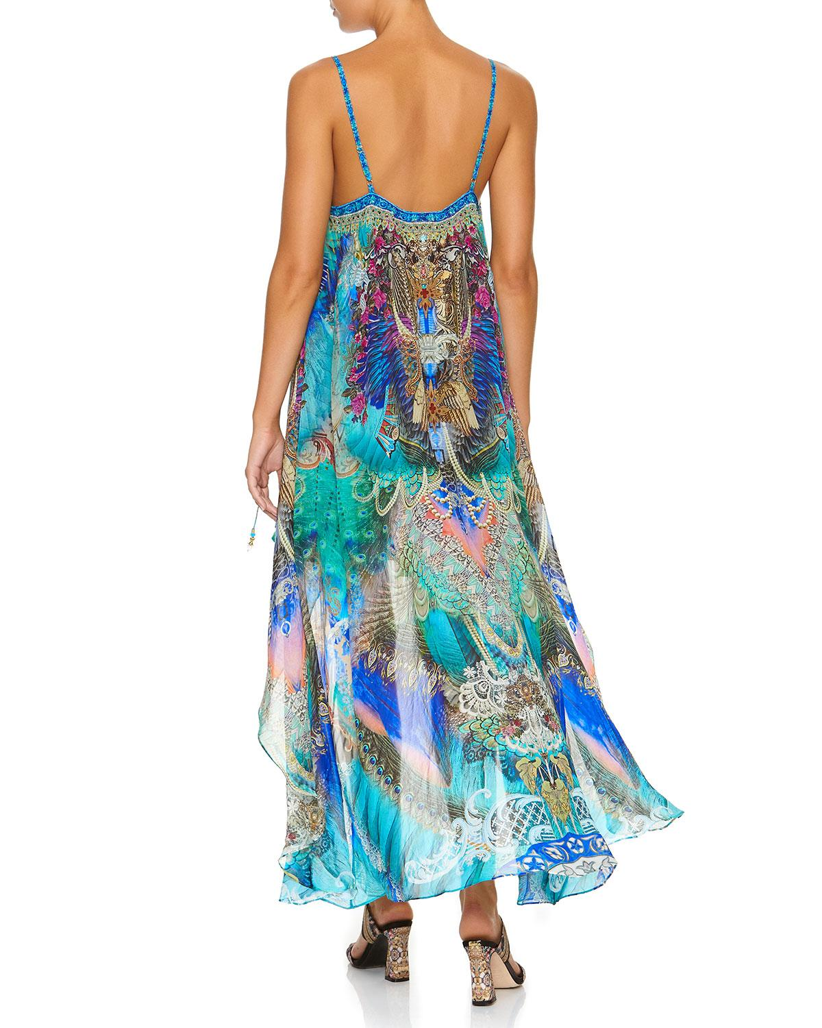 37697042f0a95 Lyst - Camilla Freedom Flight Mini Dress With Long Overlay in Blue