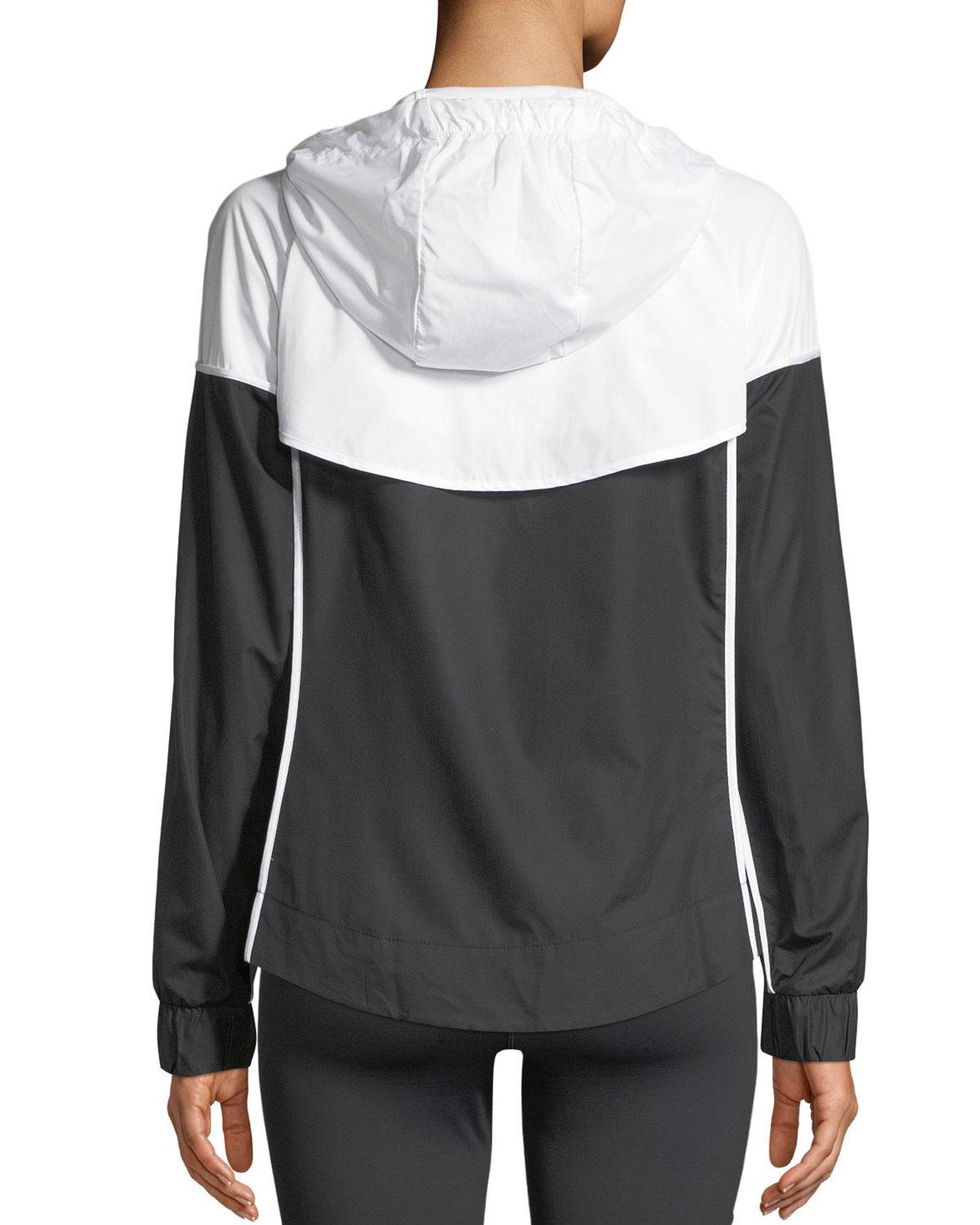 9948423ebe Lyst - Nike Windrunner Hooded Zip-front Track Jacket in Black