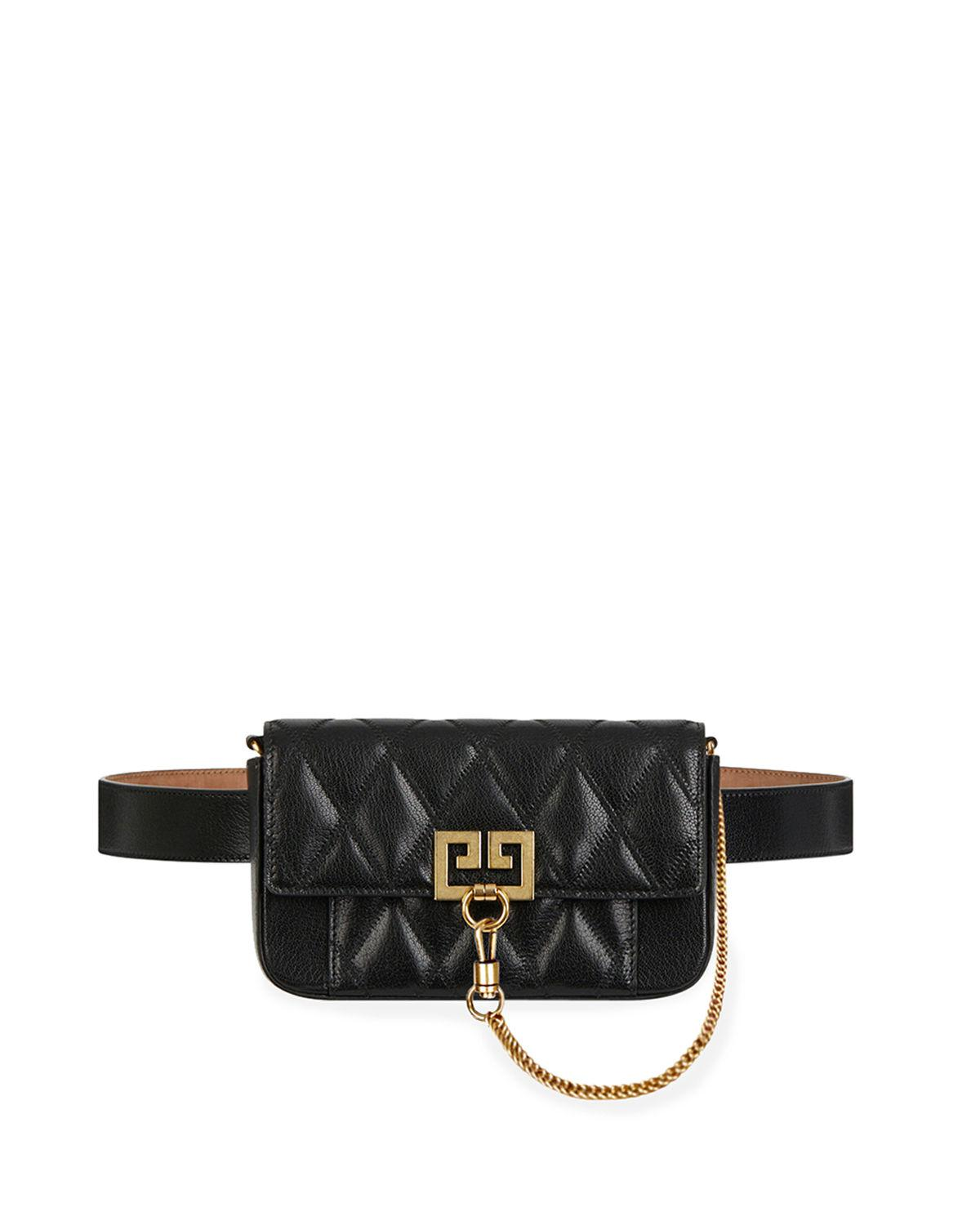 Lyst - Givenchy Pocket Mini Pouch Convertible Clutch belt Bag ... 86f9131a770d5