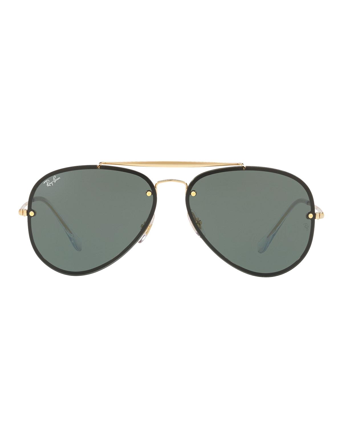 a9d4e3ee814 Ray-Ban Rb3584 Aviator Sunglasses in Metallic for Men - Save  2.643171806167402% - Lyst