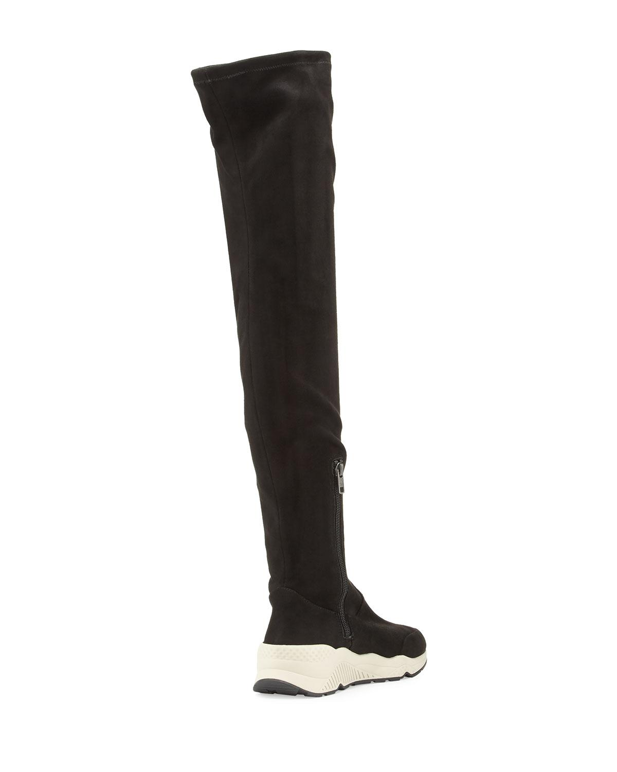 4a4d623fee8b Lyst - Ash Miracle Over-the-knee Sneaker Boot in Black