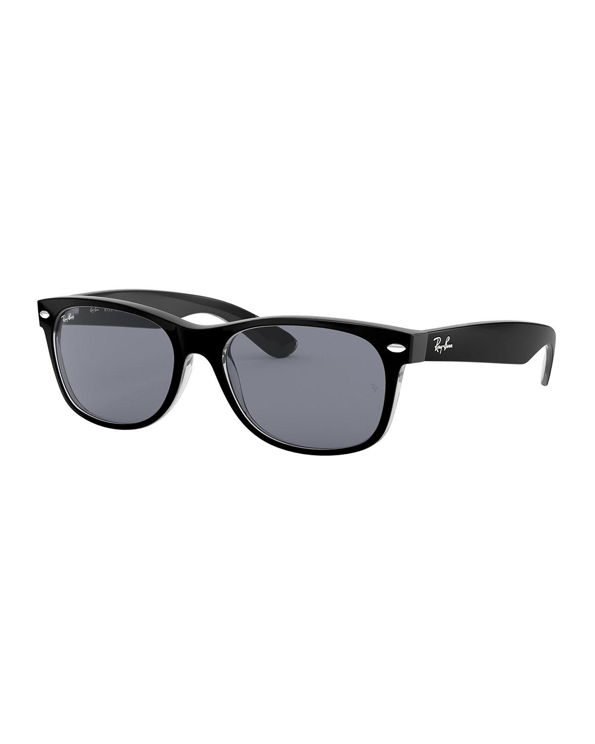 906f33867d272 Lyst - Ray-Ban Men s New Wayfarer Propionate Sunglasses in Black
